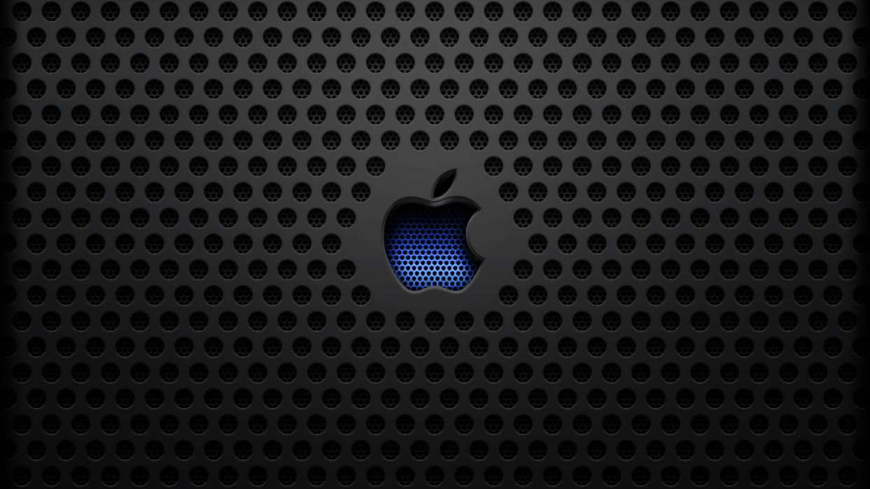 Download mobile wallpaper Brands, Background, Apple for free.