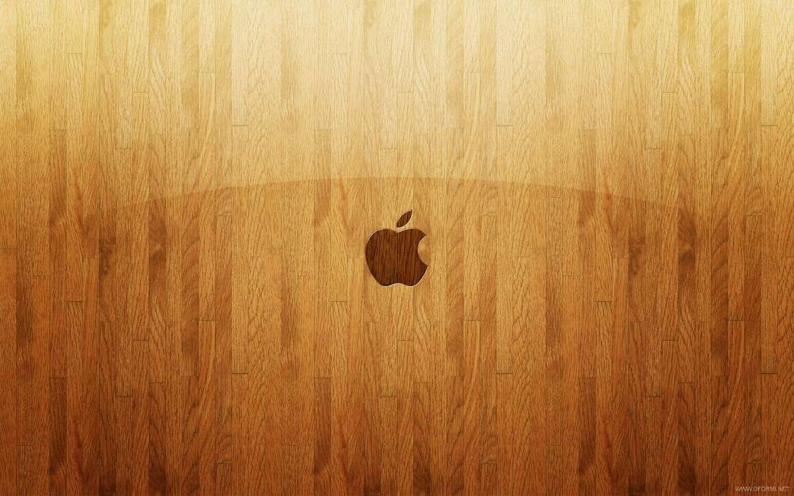 Download mobile wallpaper Brands, Background, Logos, Apple for free.