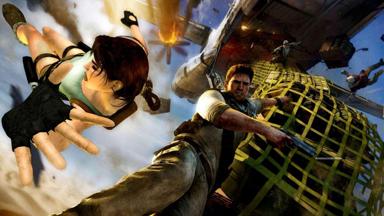 Baixa Papel De Parede Ps3: Baixar A Imagem Para Telefone: Jogos, Lara Croft: Tomb