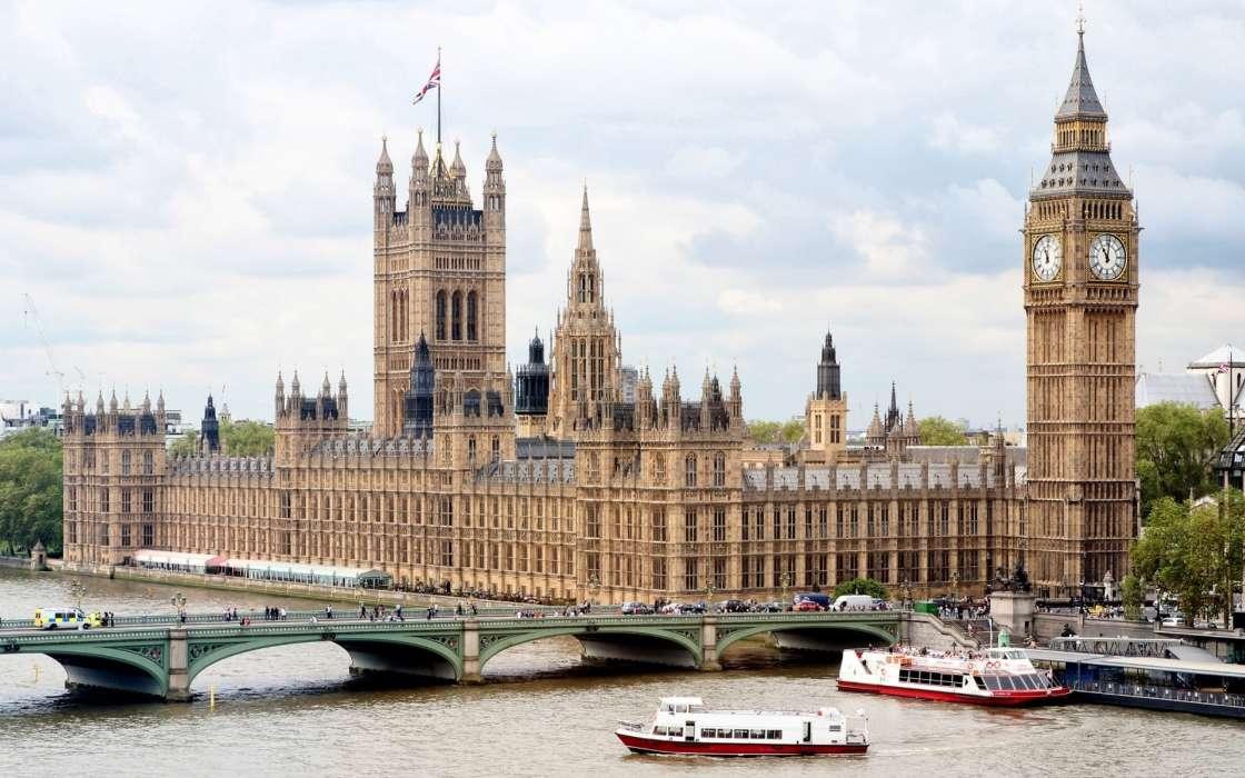 Download Mobile Wallpaper Landscape Cities Rivers Architecture London Big Ben For