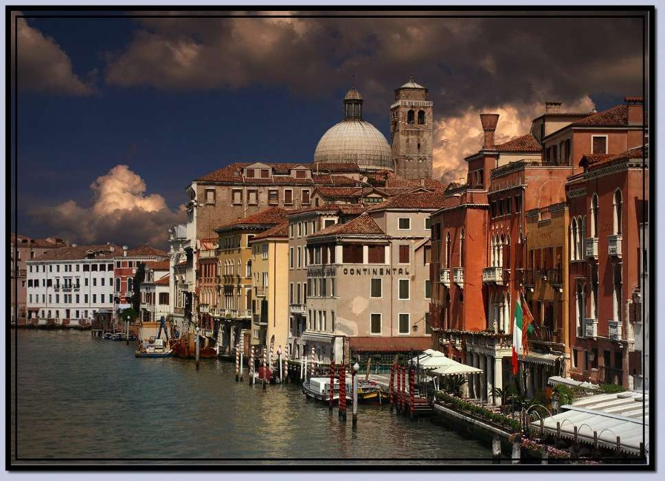 Download mobile wallpaper Landscape, Cities, Architecture, Venice for free.