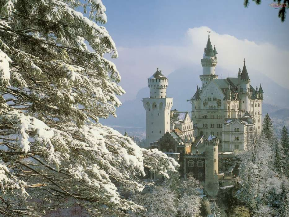 Download mobile wallpaper Landscape, Architecture, Castles for free.