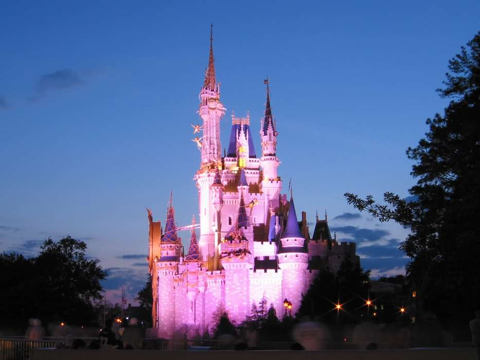 Download mobile wallpaper Architecture, Castles, Walt Disney for free.
