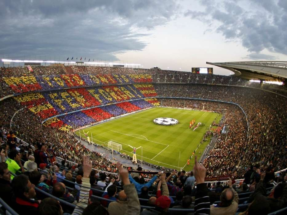 Download mobile wallpaper Sports, Landscape, Football, Barcelona for free.