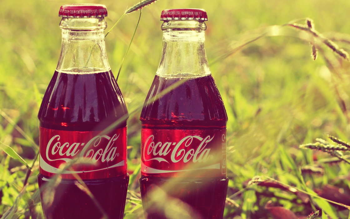 Download mobile wallpaper Brands, Art photo, Coca-cola, Drinks for free.