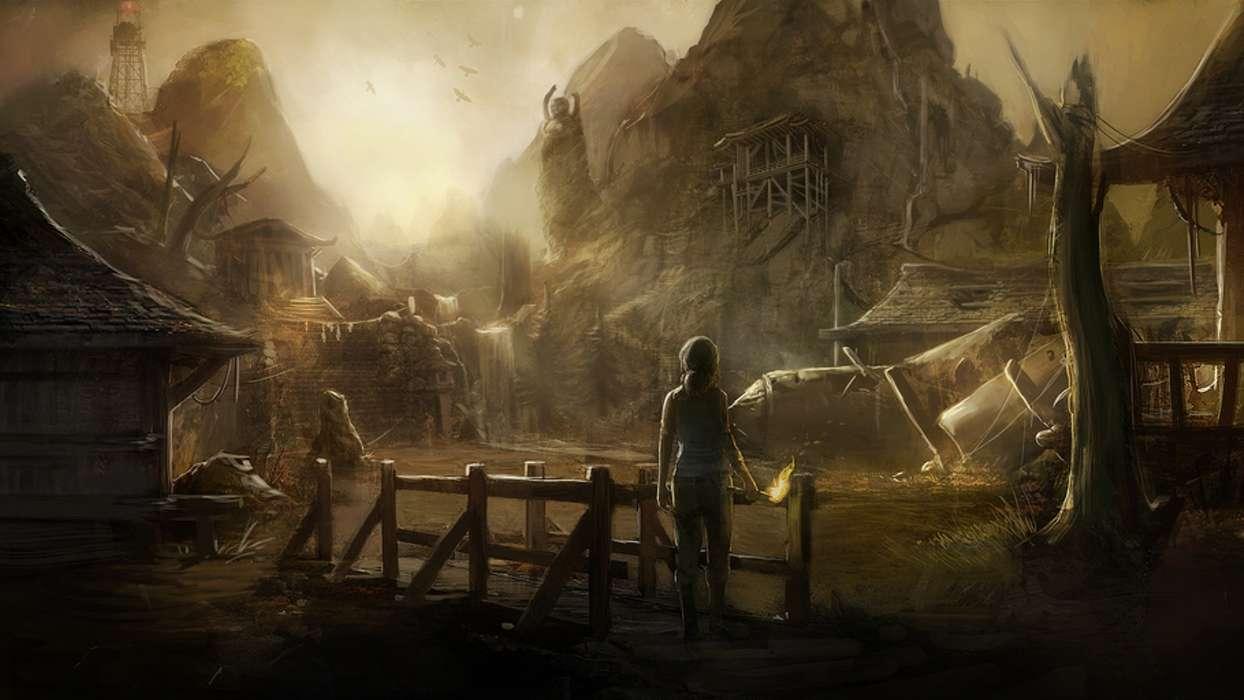 Baixar A Imagem Para Telefone: Jogos, Tomb Raider, Grátis