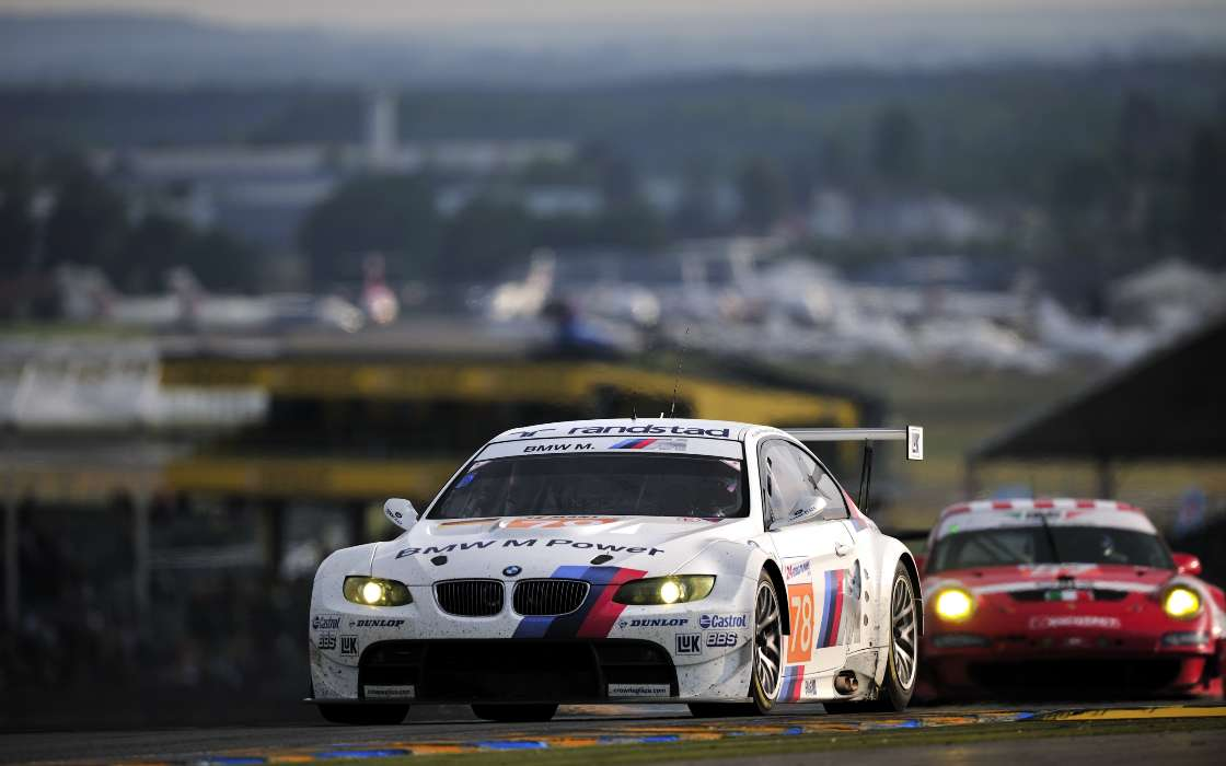 Download mobile wallpaper Sports, Auto, BMW, Races for free.