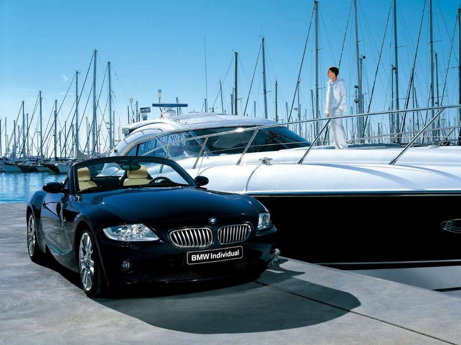 Download mobile wallpaper Transport, Auto, BMW, Yachts for free.