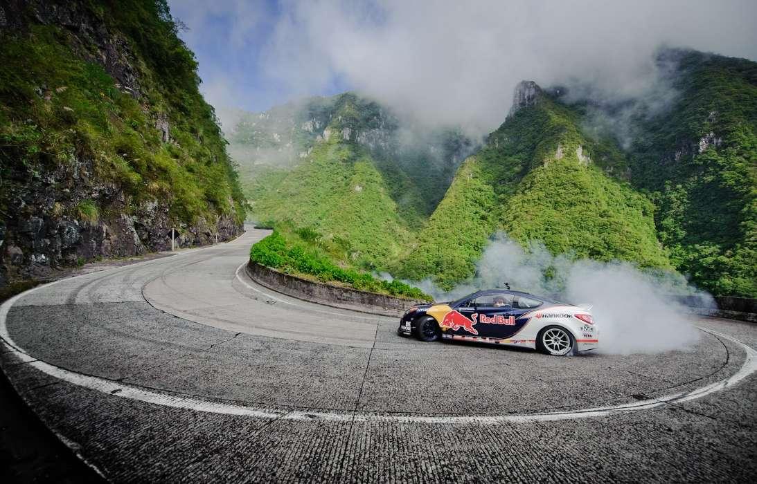 красивые фото в горах крутых авто они, как