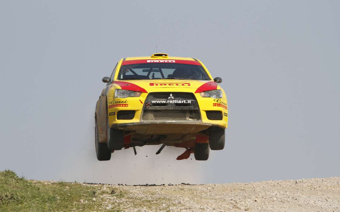 Download mobile wallpaper Sports, Transport, Auto, Mitsubishi, Rally for free.