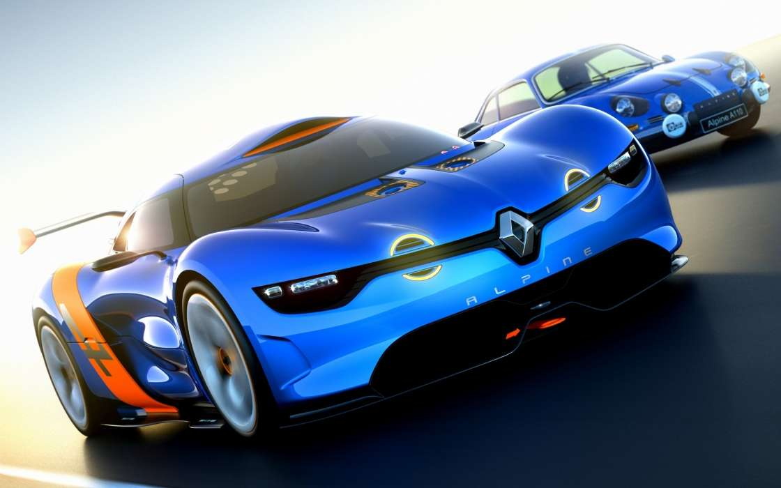 Download mobile wallpaper Transport, Auto, Renault for free.