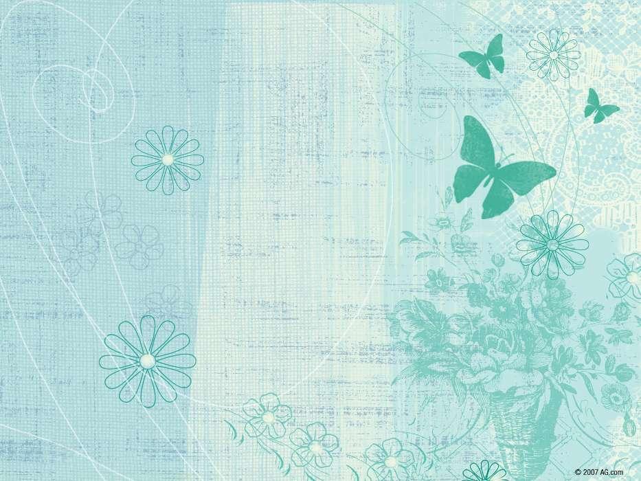 готовить красивые картинки в мятном цвете для распечатки про домовенка кузю