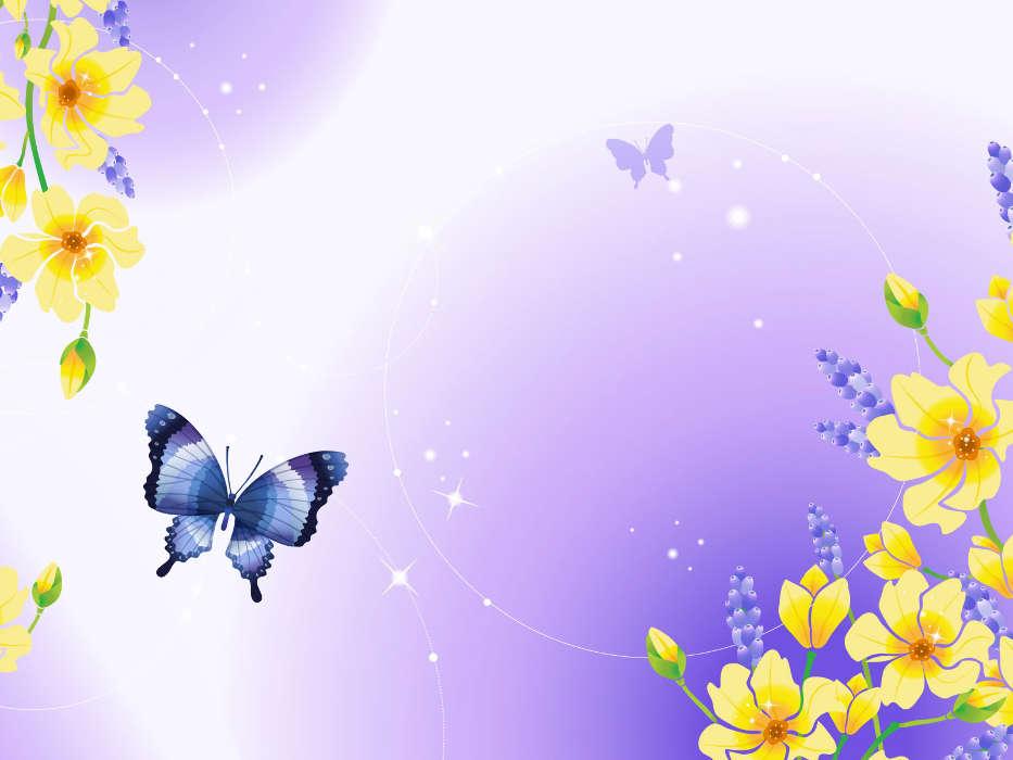 Descargar La Imagen En Telefono Mariposas Insectos Imagenes