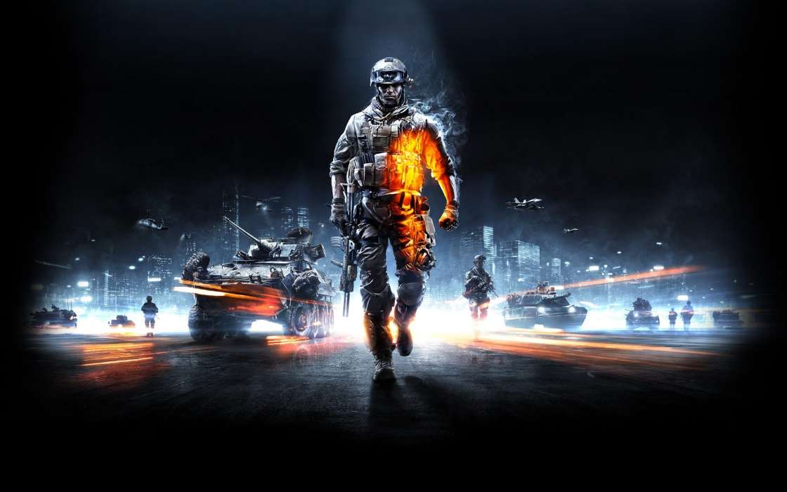 Download mobile wallpaper Games, Battlefield for free.
