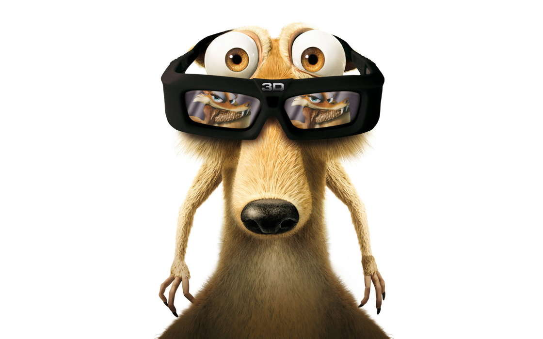 Download mobile wallpaper Funny, Cartoon, Squirrel, Scrat, Ice Age for free.