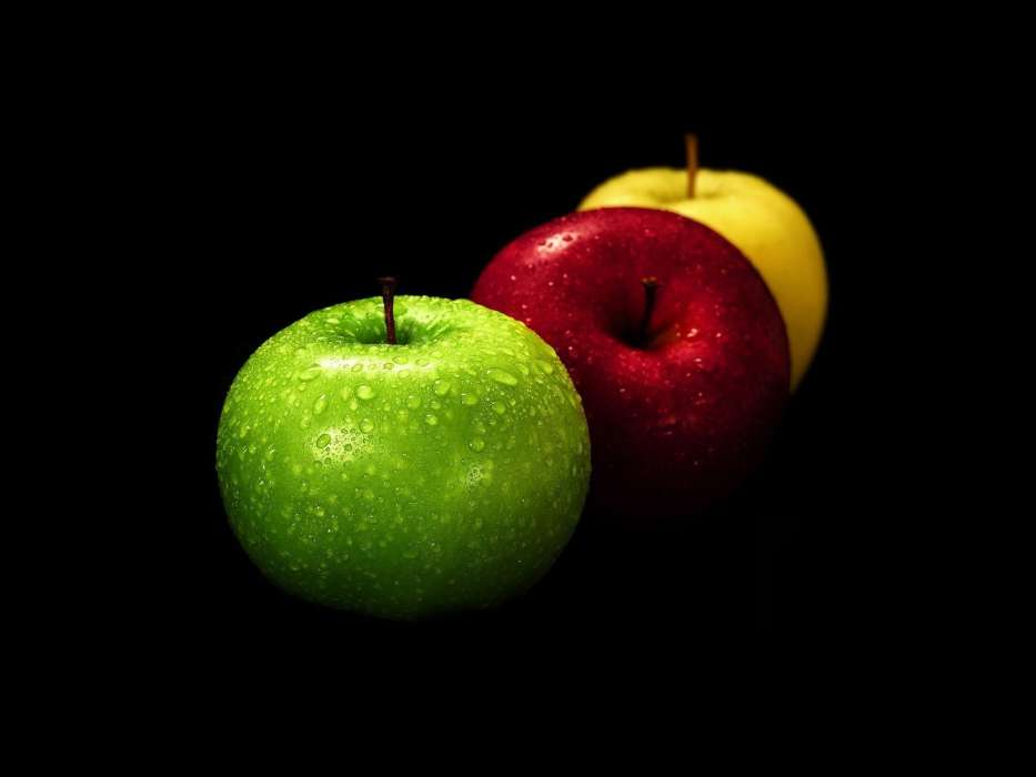 Download mobile wallpaper Food, Apples for free.