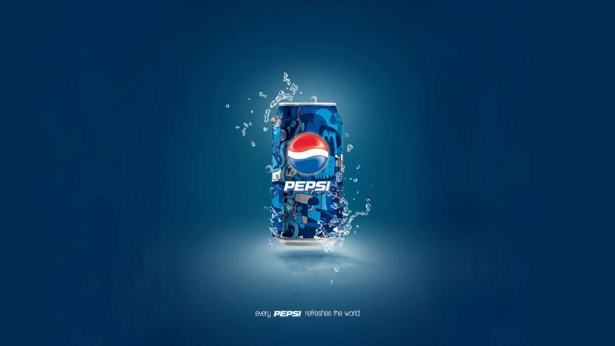 Download mobile wallpaper Brands, Drinks, Pepsi for free.
