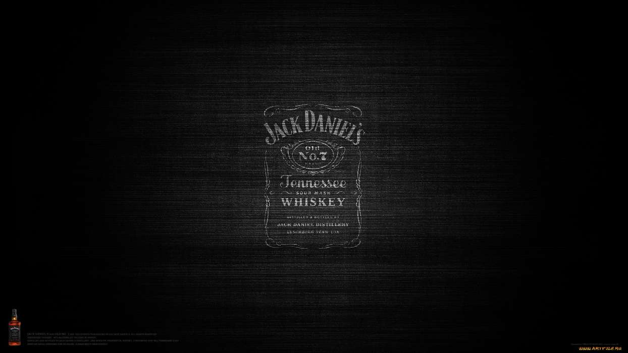 Download Mobile Wallpaper Brands Background Logos Jack Daniels For Free