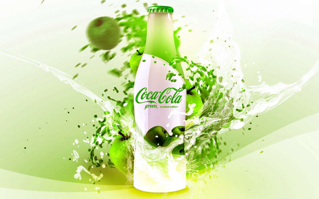 Download mobile wallpaper Brands, Coca-cola, Drinks for free.