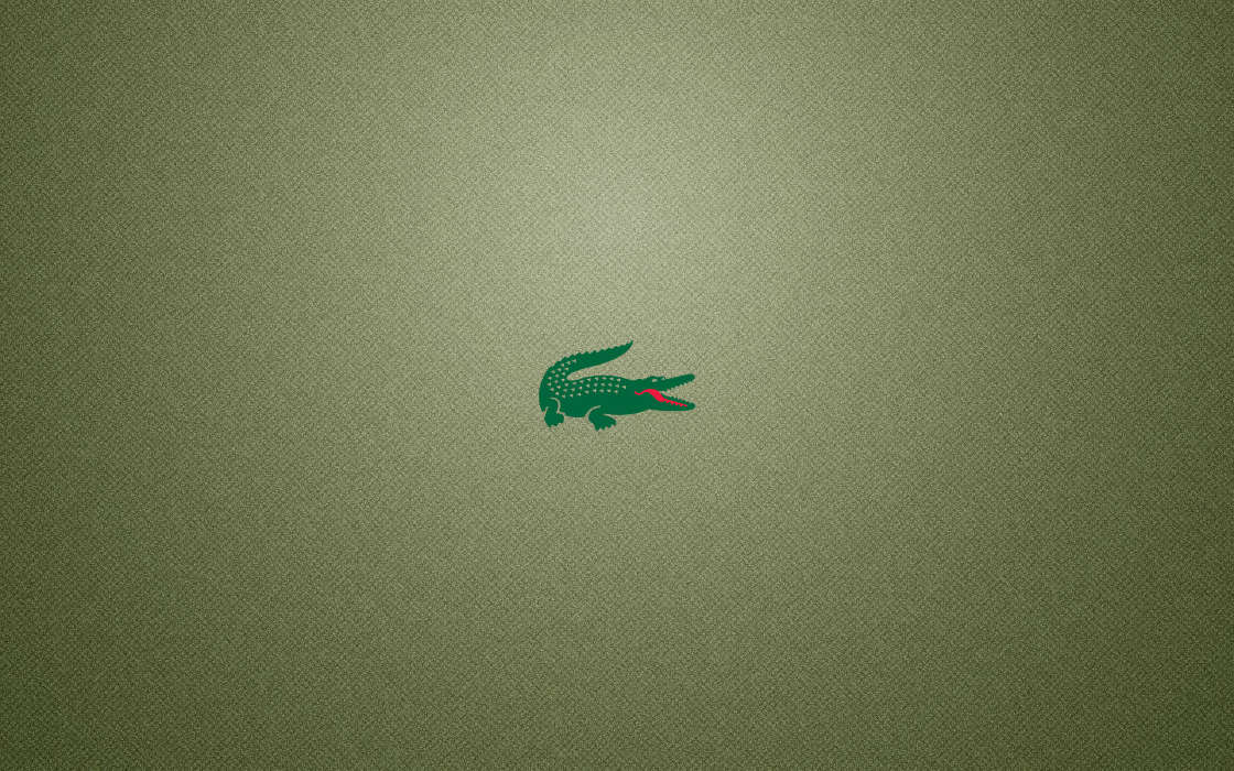 Download mobile wallpaper Brands, Logos, Crocodiles, Lacoste for free.