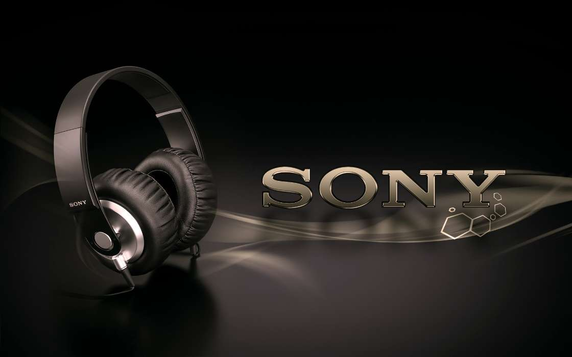 Download mobile wallpaper Music, Brands, Objects, Headphones for free.