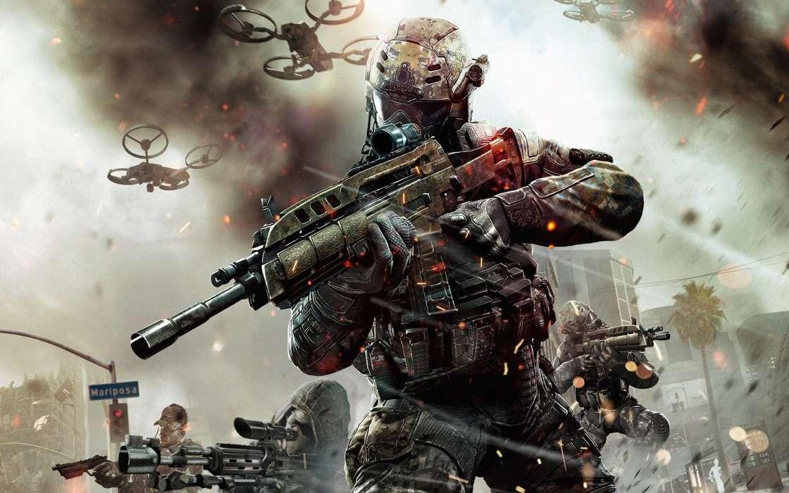 Baixa Papel De Parede Ps3: Baixar A Imagem Para Telefone: Jogos, Call Of Duty (COD