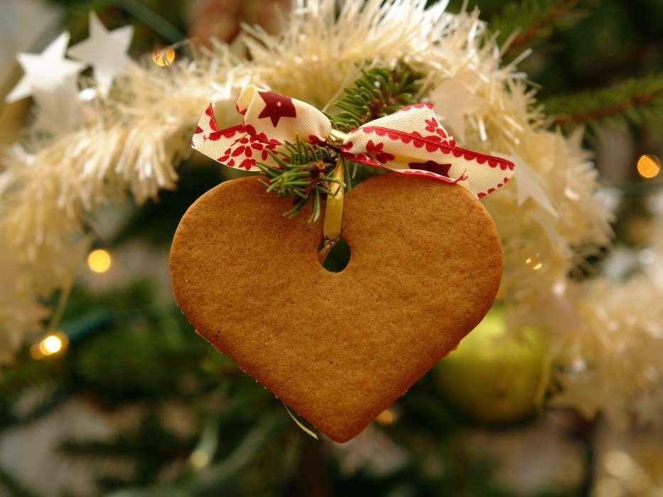 Download mobile wallpaper Holidays, Hearts, New Year, Christmas, Xmas, Love, Valentine's day for free.