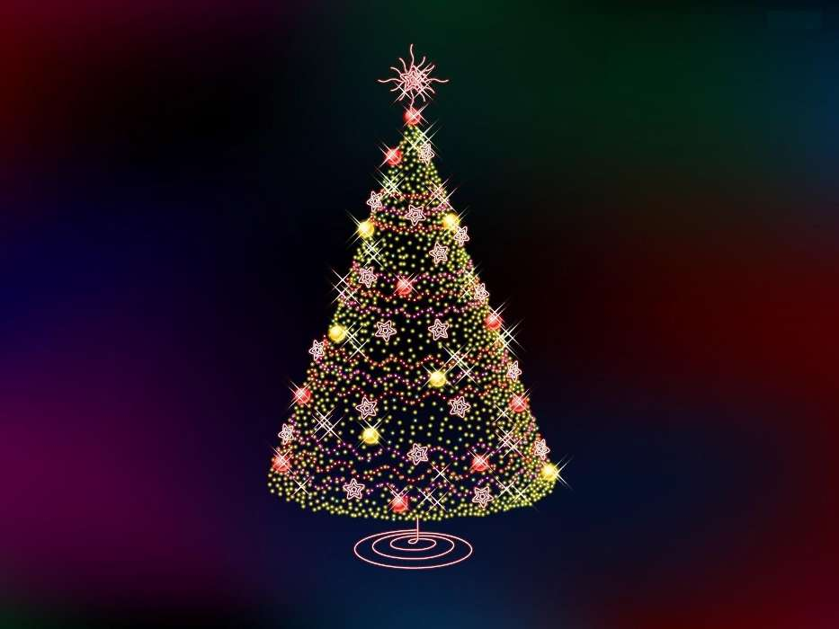 Download mobile wallpaper Holidays, Trees, New Year, Fir-trees, Christmas, Xmas, Pictures for free.