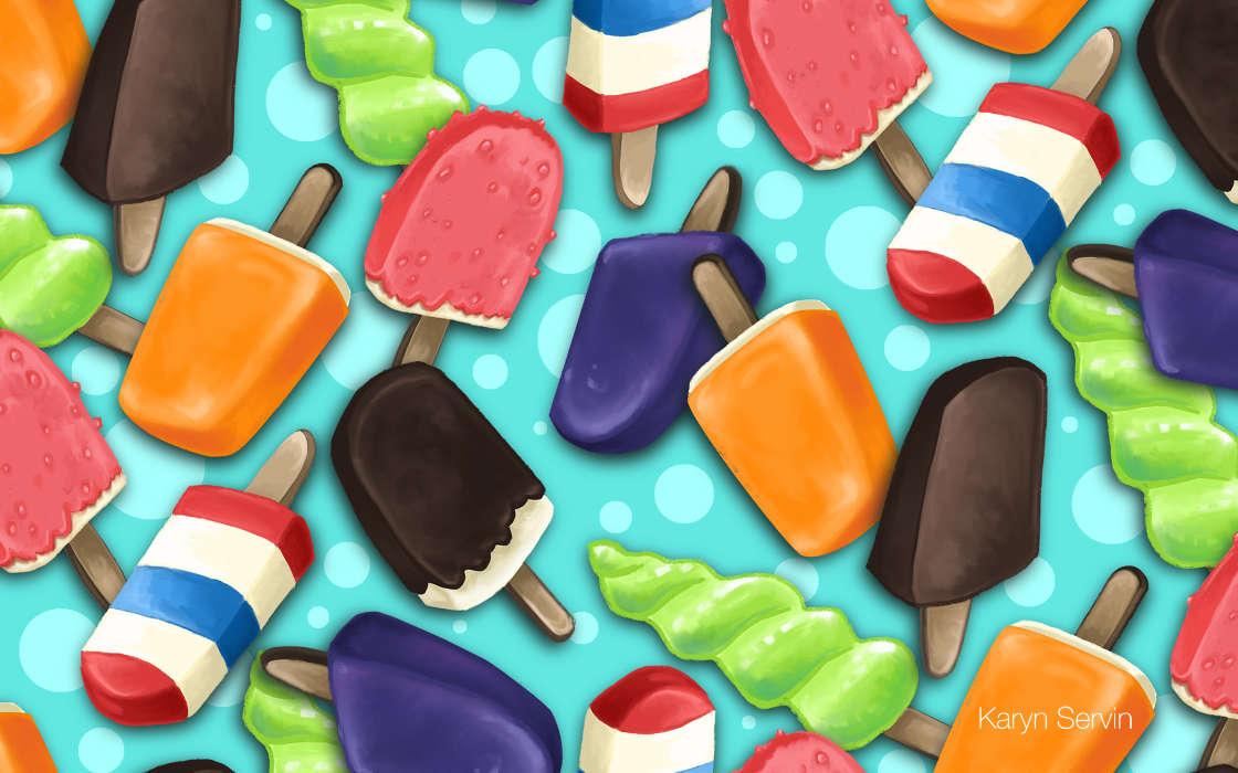 Картинки мороженого на телефон