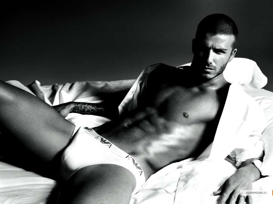 Download mobile wallpaper Sports, People, Football, Art photo, David Beckham, Men for free.