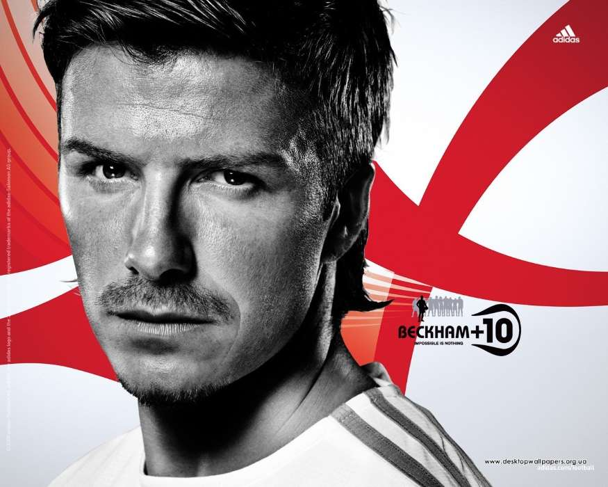 Download mobile wallpaper Sports, People, Football, David Beckham, Men for free.