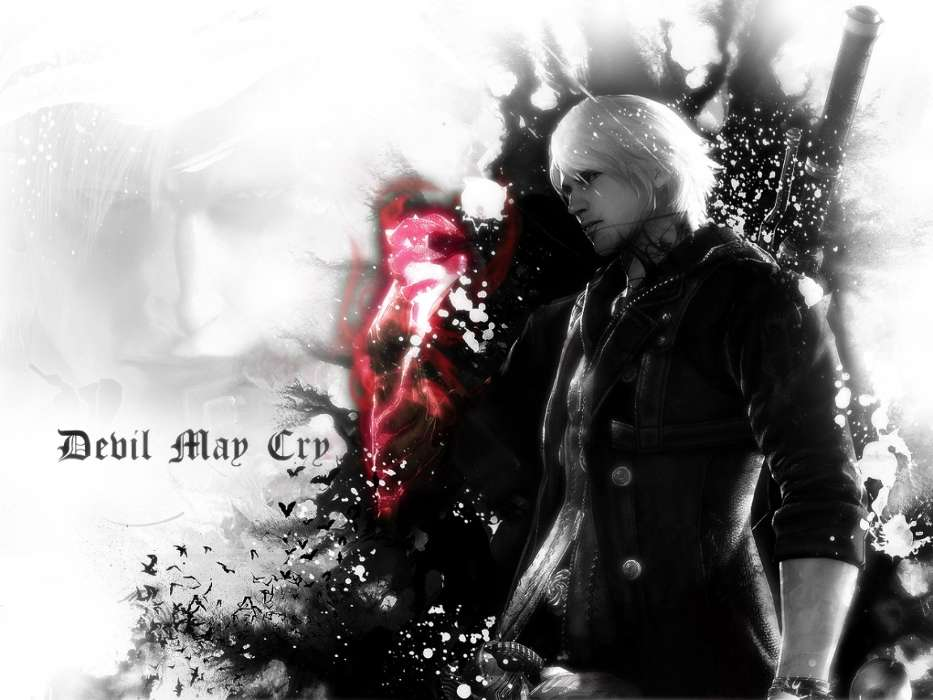 Download mobile wallpaper Games, Devil May Cry for free.