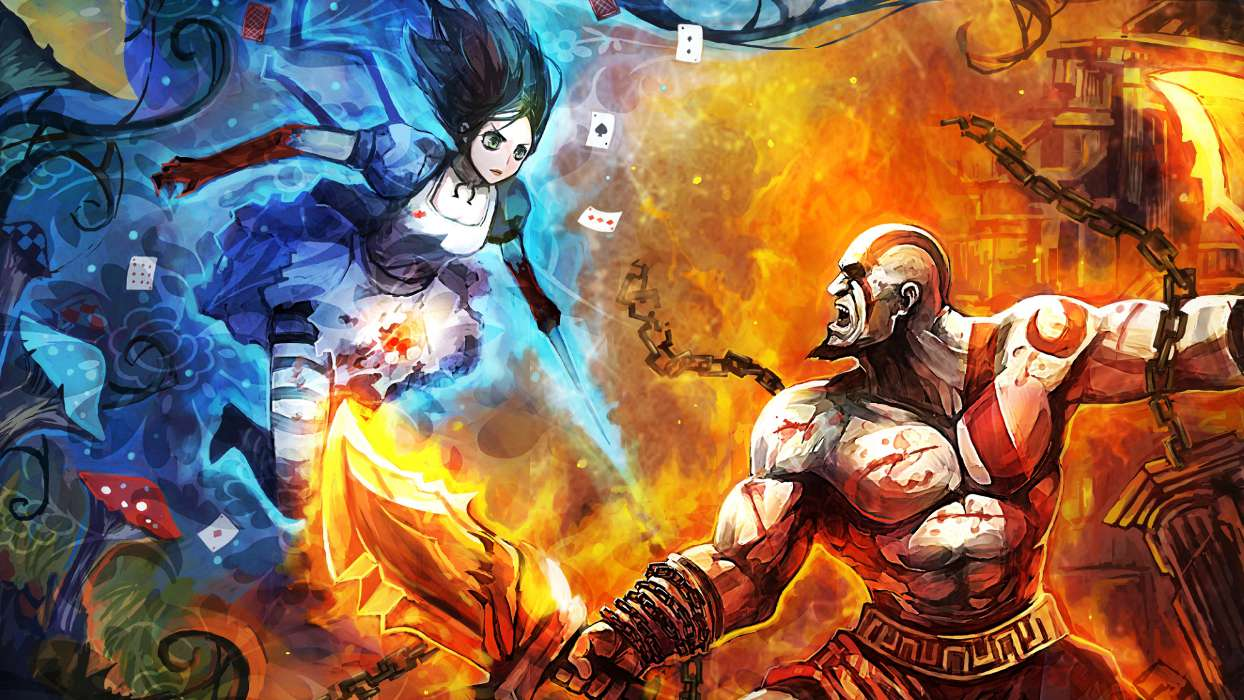 Download mobile wallpaper Games, Girls, Alice: Madness Returns for free.