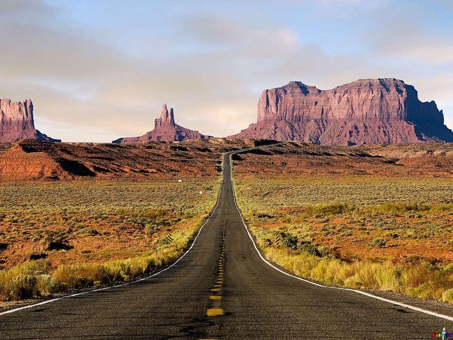 Descargar la imagen en teléfono: Paisaje, Cielo, Montañas