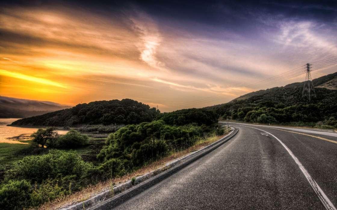 Descargar la imagen en tel fono paisaje carreteras gratis 34835 - Caser asistencia en carretera telefono ...