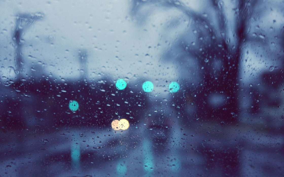 Download mobile wallpaper Background, Rain, Drops for free.
