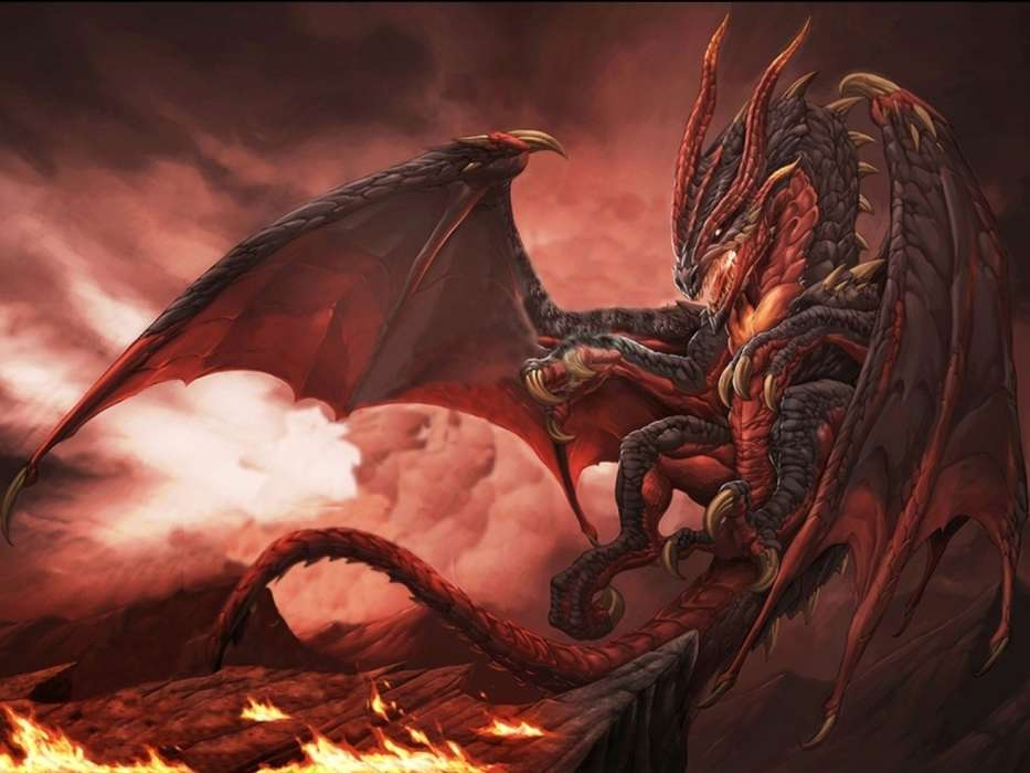 кухни стиле картинки про драконов ада деятельностью