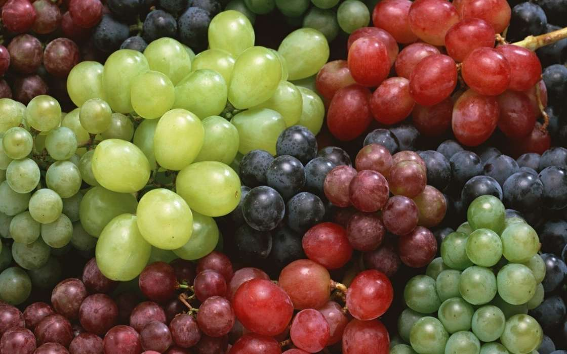 Download mobile wallpaper Fruits, Food, Background, Grapes for free.