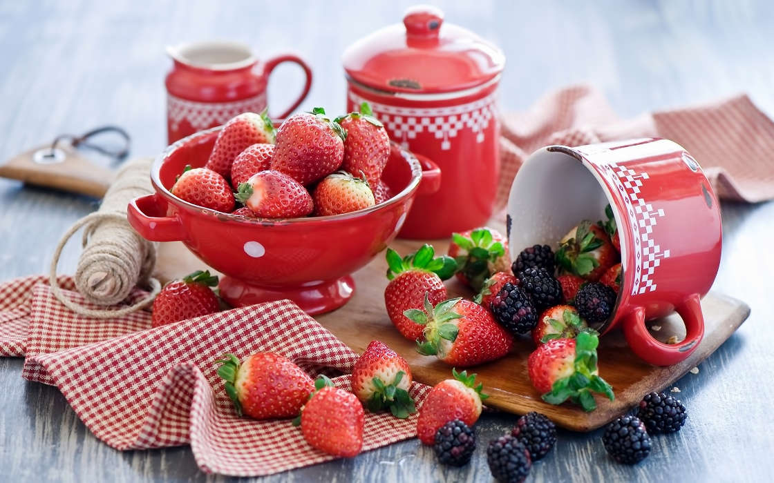 Download mobile wallpaper Food, Berries for free.