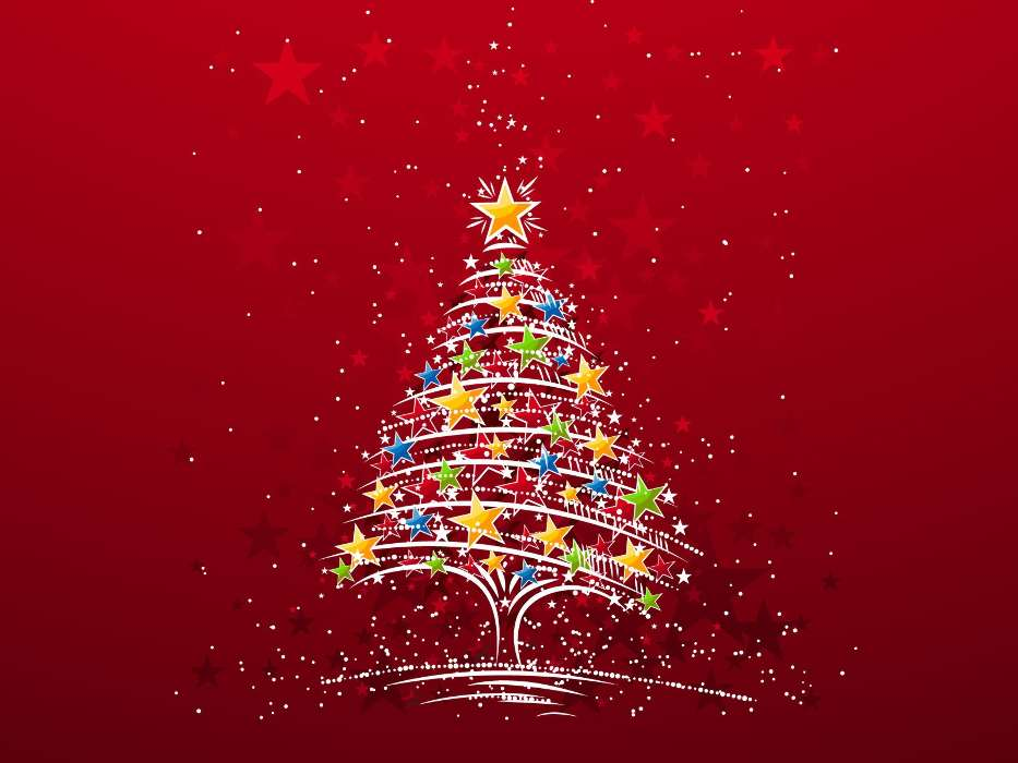 Download mobile wallpaper Holidays, New Year, Fir-trees, Christmas, Xmas, Pictures for free.