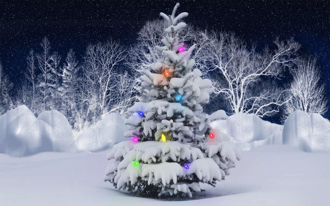 Download Bilder Für Das Handy Feiertage Neujahr Schnee