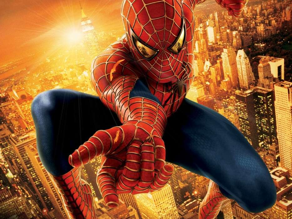 Download mobile wallpaper Cinema, Spider Man for free.