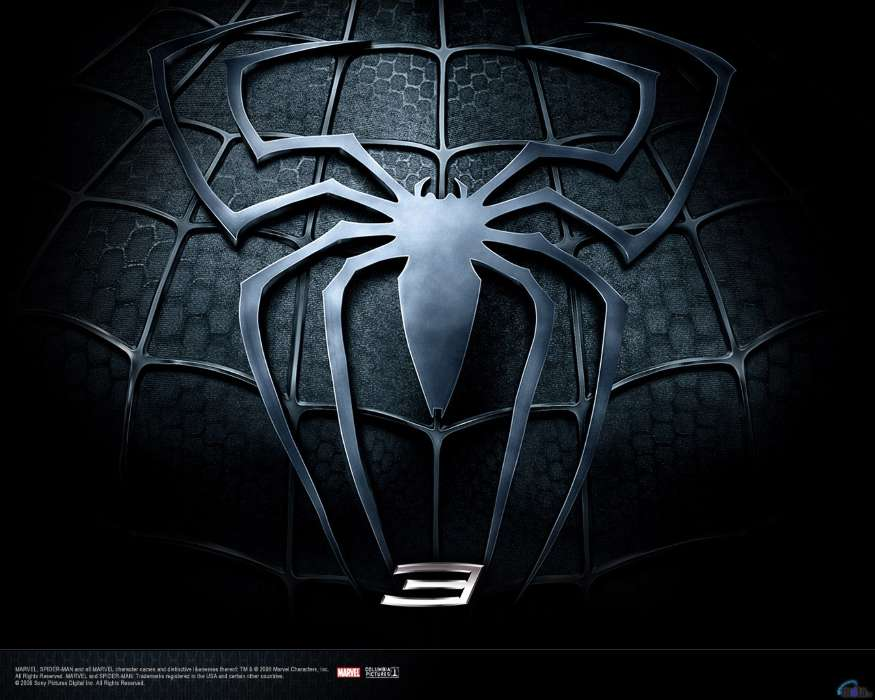 Download mobile wallpaper Cinema, Logos, Spider Man for free.