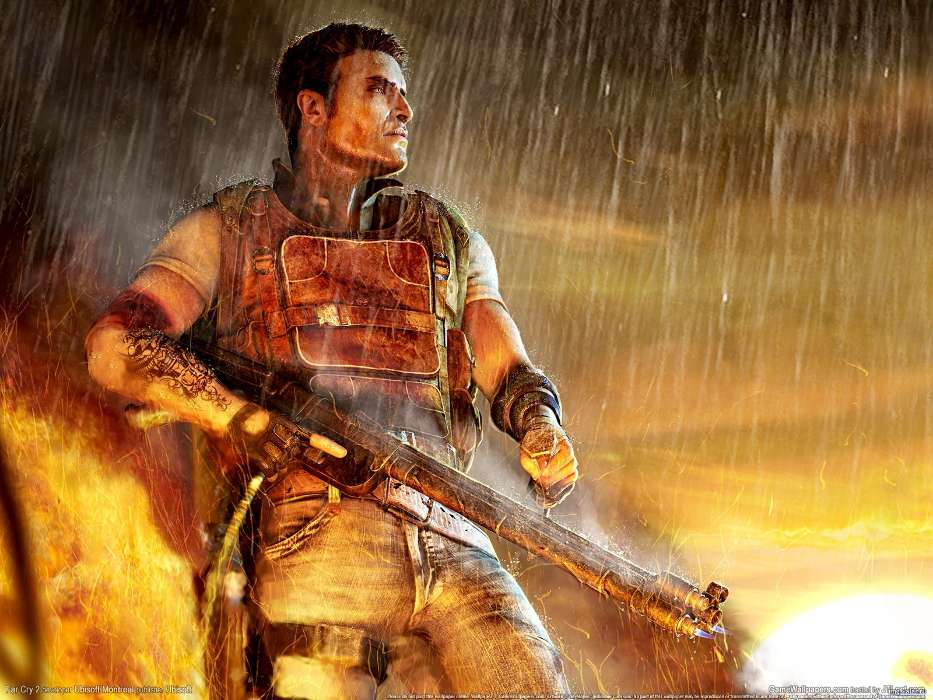 Download mobile wallpaper Games, Far Cry 2 for free.