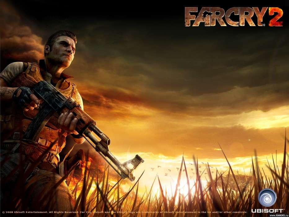 Download Mobile Wallpaper Games People Men Far Cry 2 Free 11432