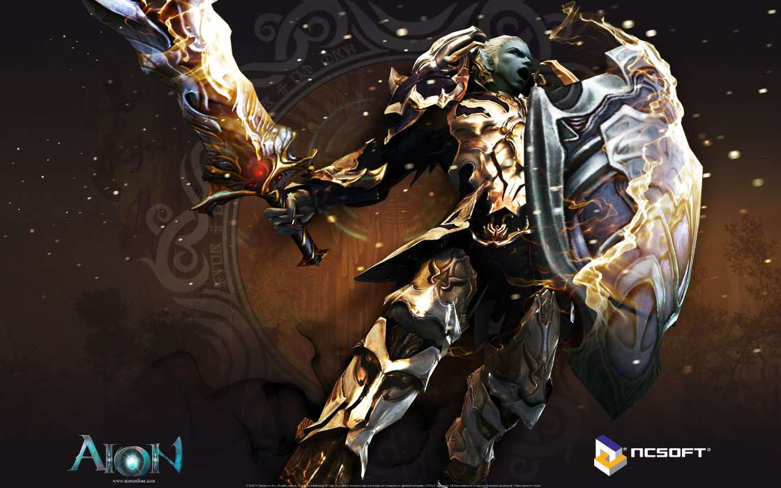 Download mobile wallpaper Games, Fantasy, Aion for free.