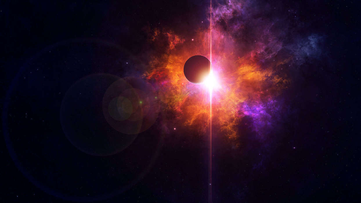 イメージを携帯電話にダウンロード ファンタジー 宇宙 無料 41838