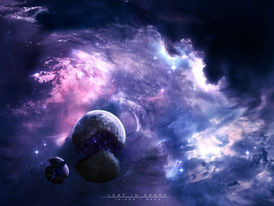 download mobile wallpaper landscape fantasy planets universe
