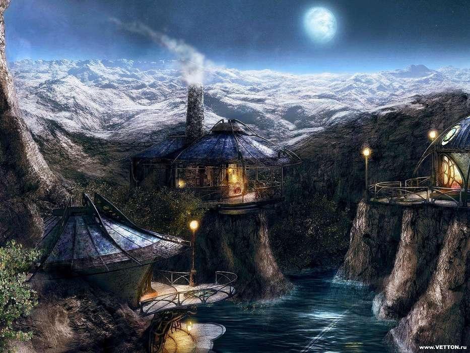 download bilder für das handy landschaft fantasie