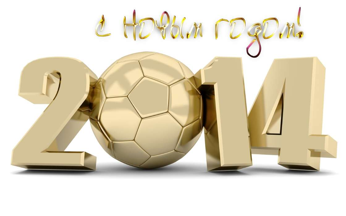 Download mobile wallpaper Sports, Holidays, Background, Football, New Year for free.